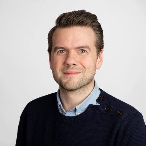 Portrett Hans Inge Myrvold daglig leder for Supplèr